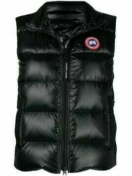 Canada Goose zip-up padded down gilet - Black