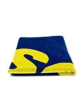 Dsquared2 Kids logo beach towel - Blue