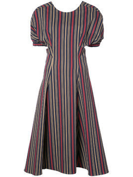 Tome striped midi dress - Multicolour