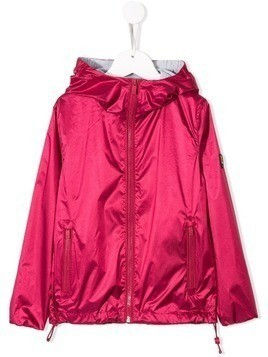 Ciesse Piumini Junior hooded zip rain jacket - Pink