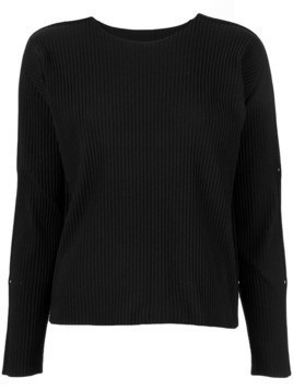 Issey Miyake Cauliflower APOC long sleeve top - Black
