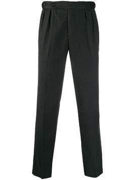 Massimo Alba straight-leg tailored trousers - Grey