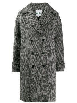 Kenzo double breasted coat - Grey