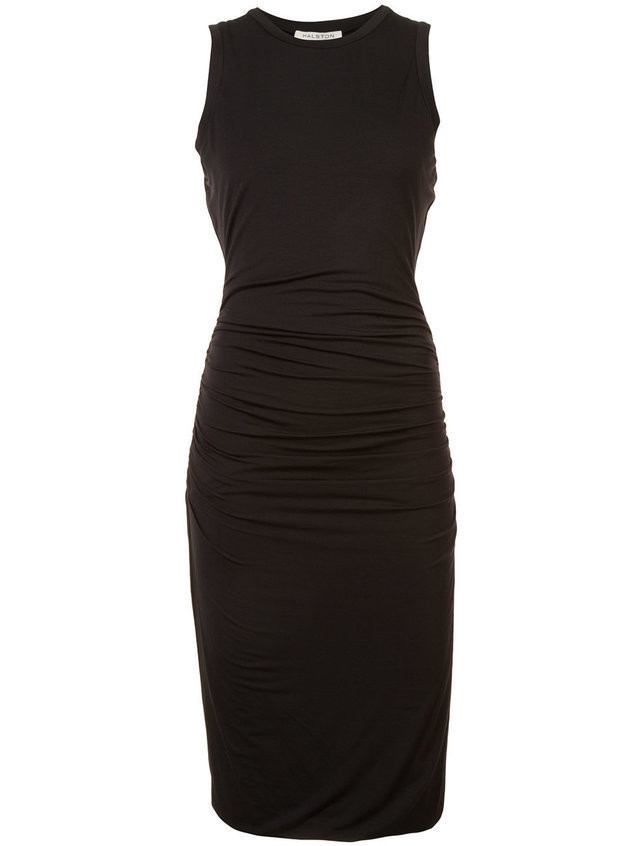 Halston Heritage pencil fitted dress - Black
