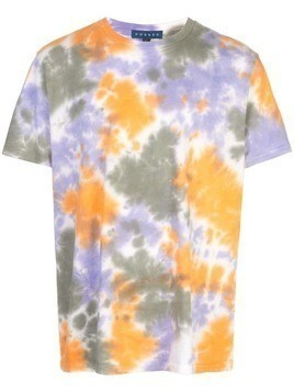 PHANES tie dye effect T-shirt - Orange