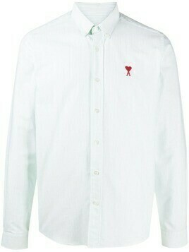 AMI Paris Ami de Coeur button-down shirt - White