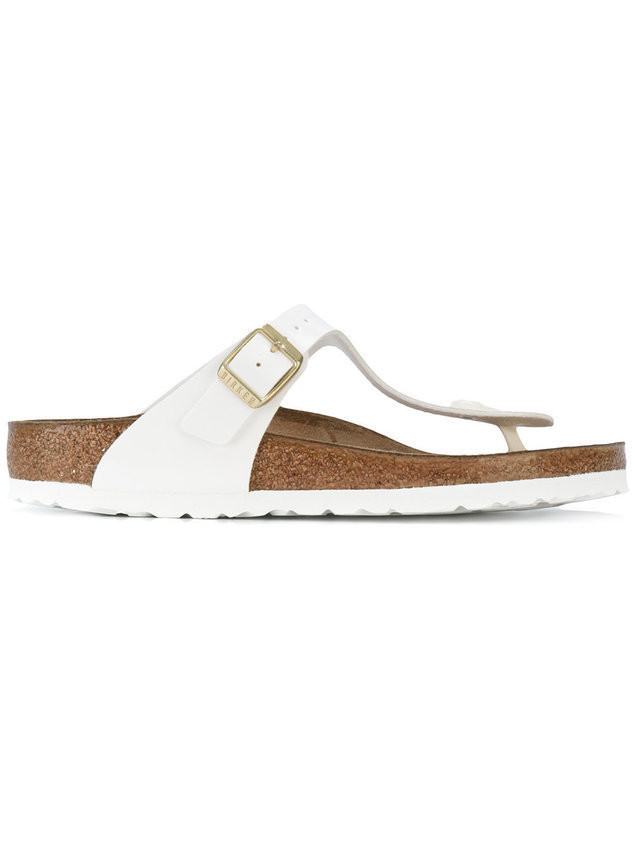 Birkenstock T-bar sandals - White