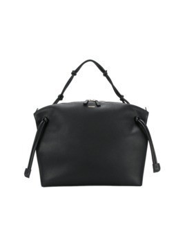 Jil Sander zipped shoulder bag - Black