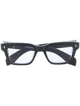 Jacques Marie Mage square frame optical glasses - Black