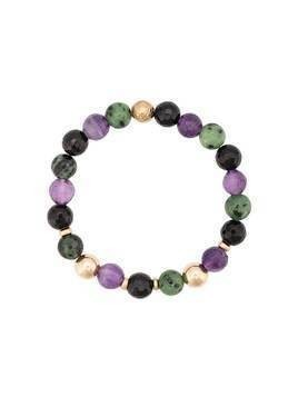 Nialaya Jewelry faceted stone bracelet - Multicolour