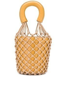 Staud rope knit bucket bag - Brown