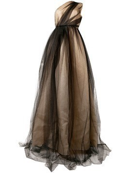 Alex Perry Alicia gown - Neutrals