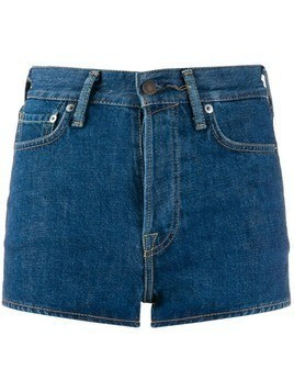 Acne Studios high waisted denim shorts - Blue