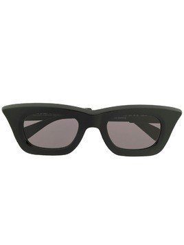 Kuboraum rectangular frame sunglasses - Black
