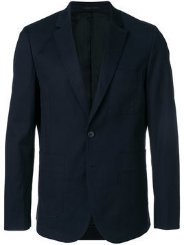 Ps By Paul Smith - fitted blazer - Herren - Cotton/Spandex/Elastane/Viscose/Polyester - 46 - Blue