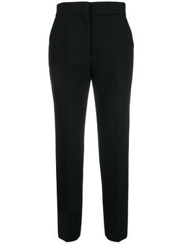 MSGM cropped tailored trousers - Black