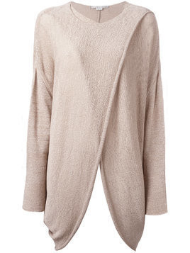 Stella McCartney wrap front top - Nude & Neutrals