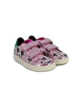 Moa Kids Mickey Mouse glitter sneakers - Pink