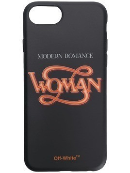Off-White Woman iPhone x case - Black