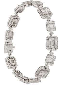 Gemco 18kt white gold and diamond bracelet - Metallic
