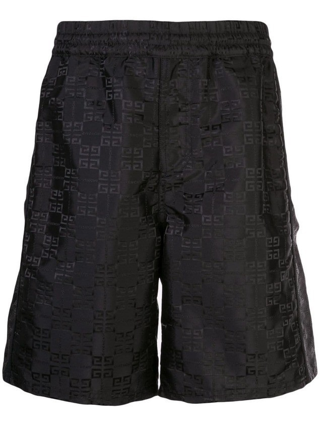 Givenchy 4G shell shorts - Black