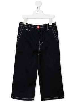 Marni Kids wide leg jeans - Blue