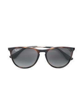 RAY-BAN JUNIOR square frame sunglasses - Brown
