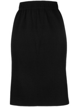 Issey Miyake Cauliflower APOC pencil skirt - Black