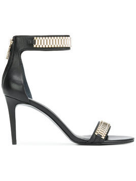 Kendall+Kylie metal trim sandals - Black