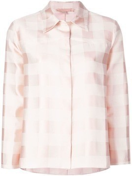 Brock Collection checked shirt - Pink