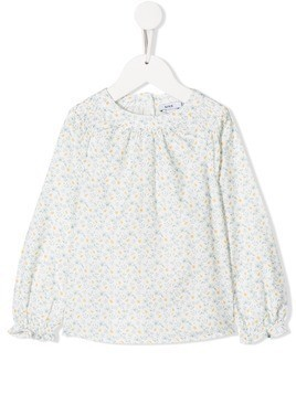 Knot Frances blouse - White