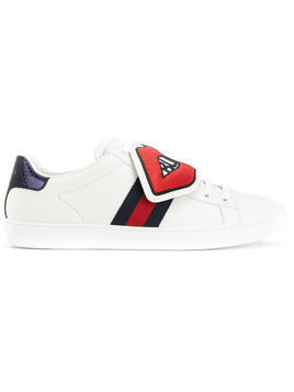 Gucci Blind for Love Ace patch sneakers - White