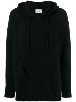 Each X Other deconstructed hoodie - Black