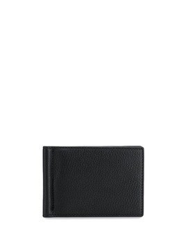Thom Browne textured finish money clip wallet - Black