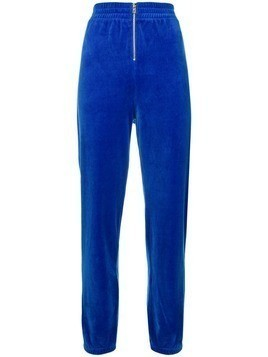 Juicy Couture velvet track pants - Blue