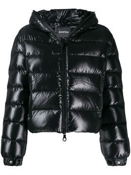 Duvetica hooded puffer jacket - Black