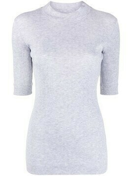 Brunello Cucinelli monili-bead knit top - Grey