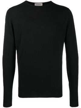 John Smedley Lundy crew neck sweater - Black