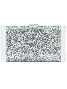 Edie Parker Lara Solid clutch - Metallic