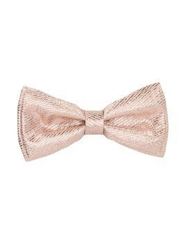 Hucklebones London double bow hairclip - Gold