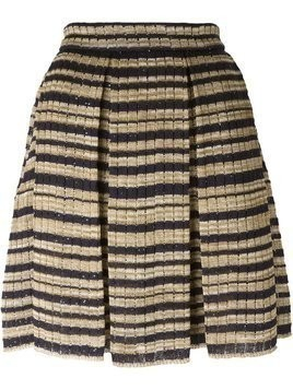 Ermanno Scervino striped knit skirt - Nude & Neutrals