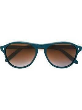 Cutler & Gross round shaped sunglasses - Blue
