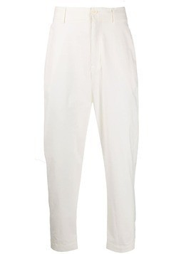 Damir Doma straight leg trousers - White