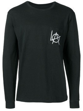 Local Authority contrast logo jumper - Black