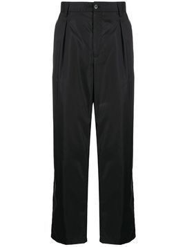 Valentino technical fabric loose-fit trousers - Black