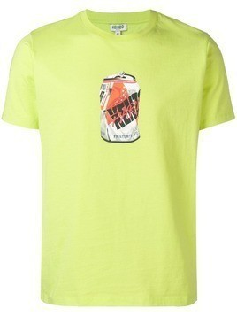 Kenzo Fizzy Drink Can T-shirt - Yellow