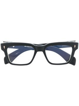Jacques Marie Mage rectangular frame optical glasses - Black