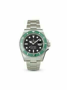 Rolex 2020 pre-owned Submariner Date 41mm - Black
