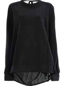 Ann Demeulemeester loose knit sweater - Black