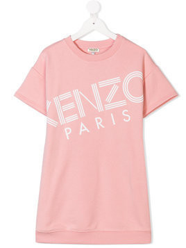 Kenzo Kids short-sleeve sweatshirt - Pink & Purple